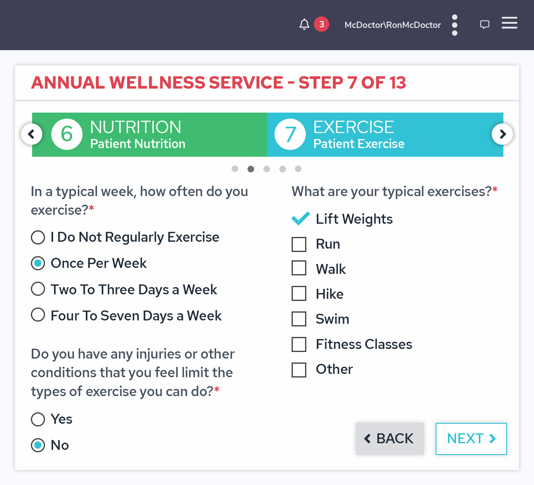 Annual Wellness Visit Software