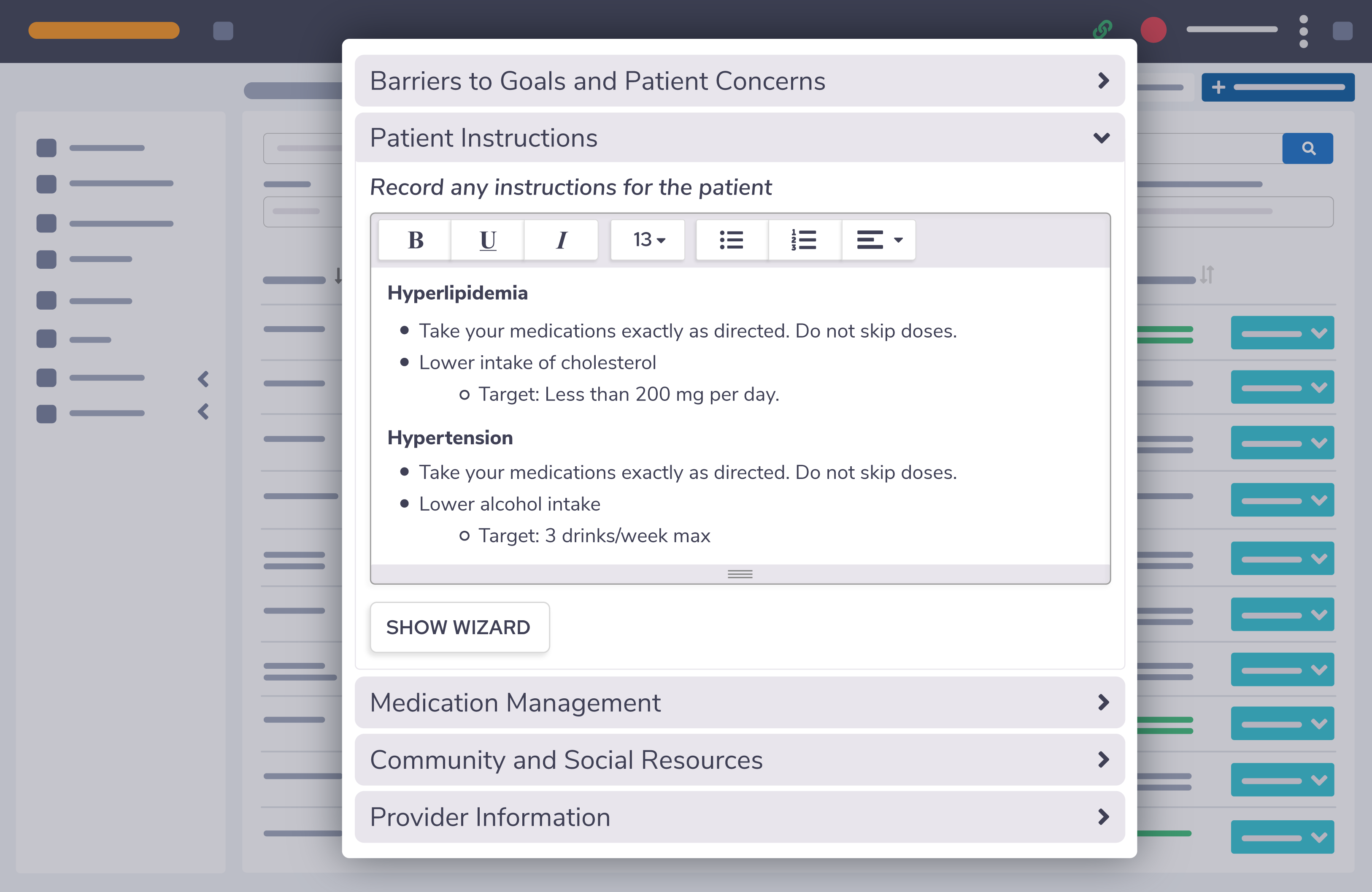 Custom Chronic Care Software